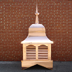 Copper Bell Top Cupola
