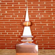 Classic Ball Copper Finial