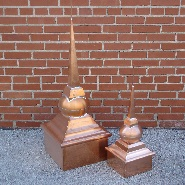 Classic Ball Copper Finials