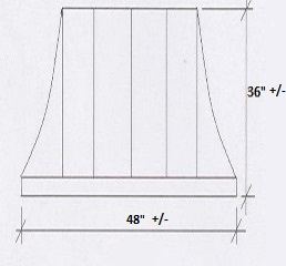 Coper Door Awning Dimensions