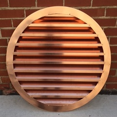 Copper Louver Wall Vents Gable End Vents Copper Summit Inc