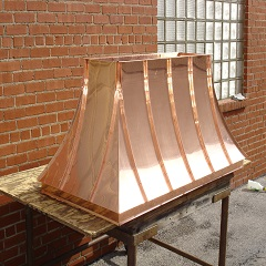 French Copper Chimney Caps