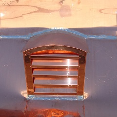 Arch Top Copper Roof Vent