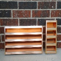 Rectangular Copper Louver Wall Vent