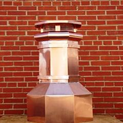 Copper Chimney Pot