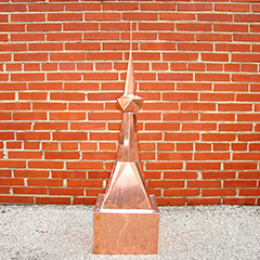 Standard Copper Finial