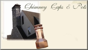 Copper Chimney Caps & Chimney Pots
