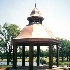 Custom Copper Gazebo