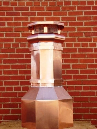 Copper Chimney Pot