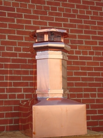 Copper Chimney Pots