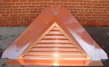 Copper Triangle Dormer