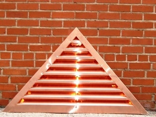 Triange Copper Louver