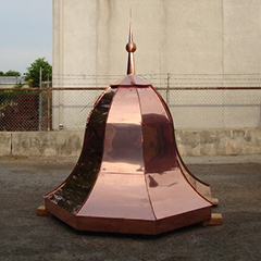 Copper Dome - Custom Bell Top