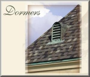 Copper Dormers (Roof Vents)