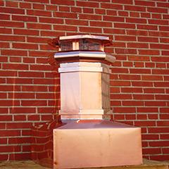 Square Base Chimney Pot