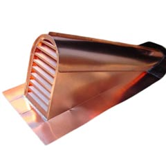 Copper Tombstone Dormer