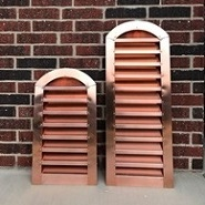 arch-top-copper-louver-front-view2